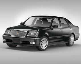 3D model Toyota Crown 1999 - 2005