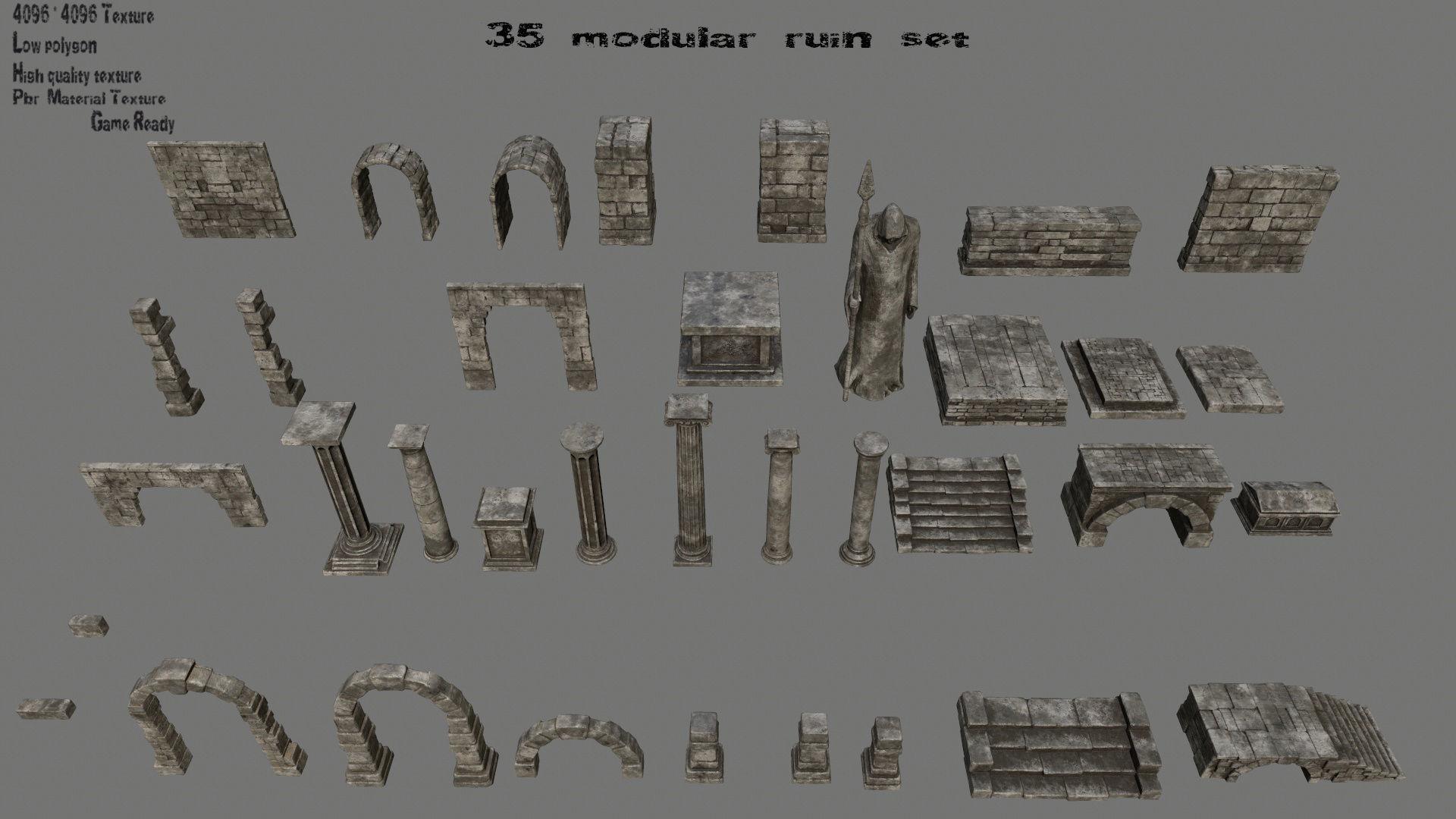 ruin set 1