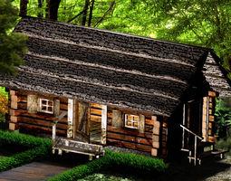 country cottage3 fbx 3D asset