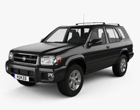 Nissan Pathfinder 2002 3D