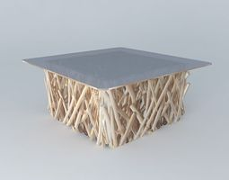 3D Coffee Table Rivage houses the world