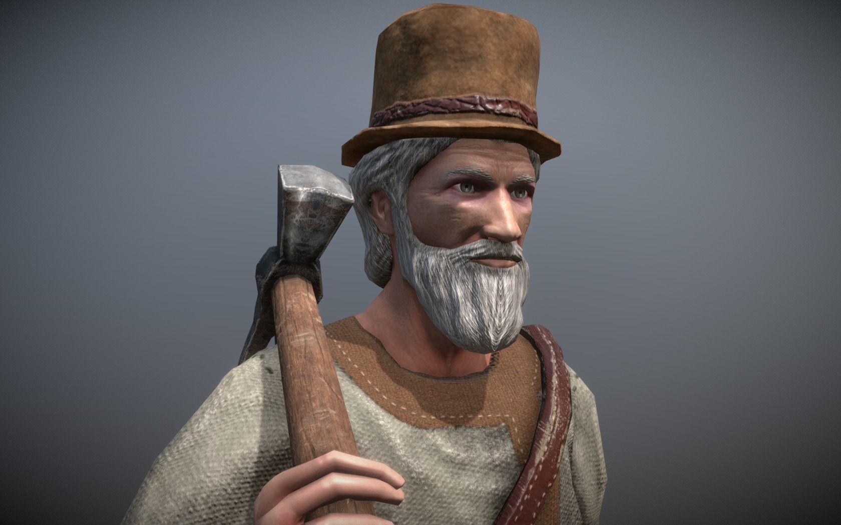 Peasant Villager Old Man