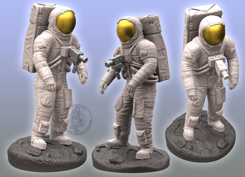 Apollo Astronaut Sculpture