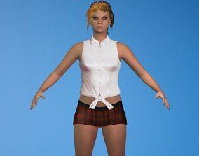 3D model Human Girl Character