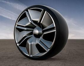 3D Infiniti Prototype 10 Concept rims