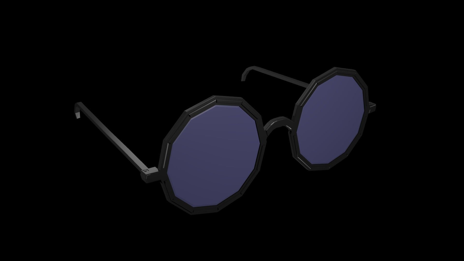 Low poly spectacles 2
