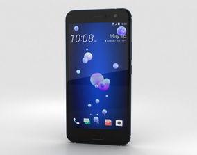 cell 3D model HTC U11 Sapphire Blue