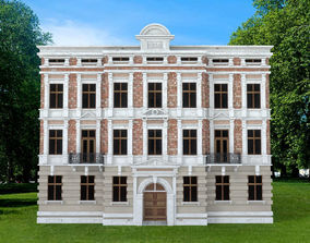 EUROPEAN CLASSICAL BUILDING 3D asset