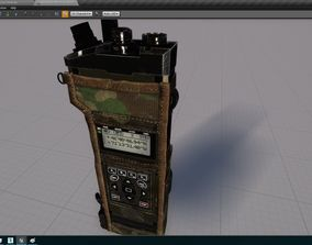 Walkie Talk Military Radio Include UE4 3D asset