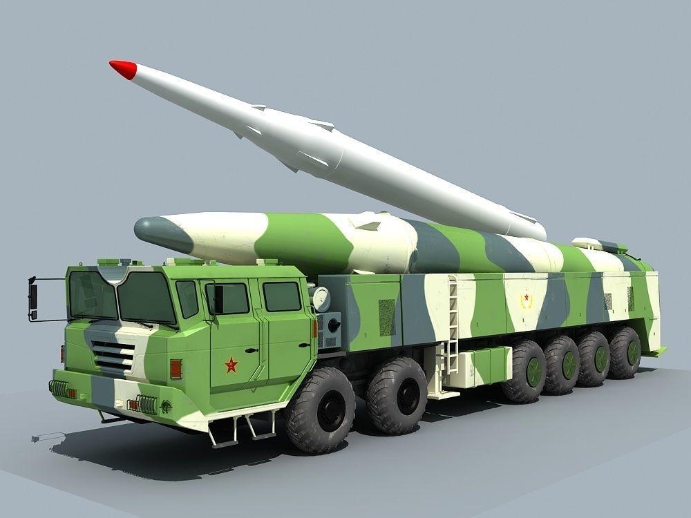 China DF-26 ballistic missile