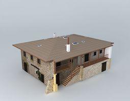 3d model walnut farm