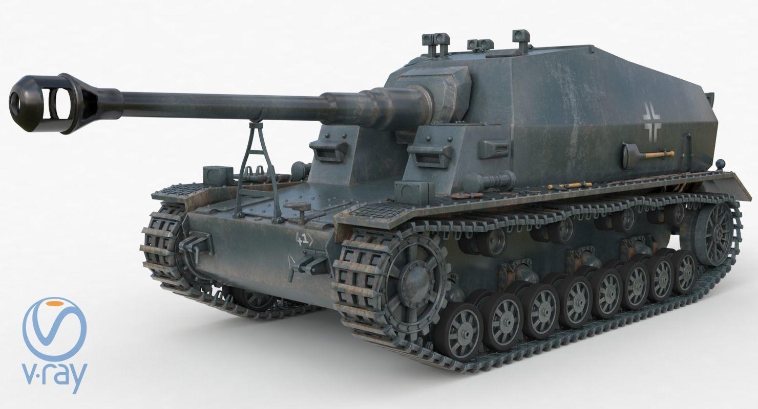 Tank K18 Auf Panzer Vray