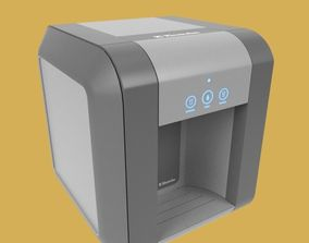 3D Coffee Machine isolated