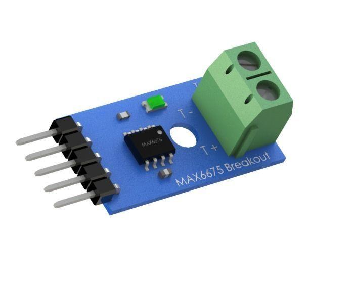 Module Board PCB  MAX6675 Thermocouple  Type K  Arduino
