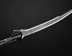 Sword of Alita from Alita Battle Angel 3D print model