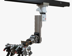 Robot Arm 3D rigged