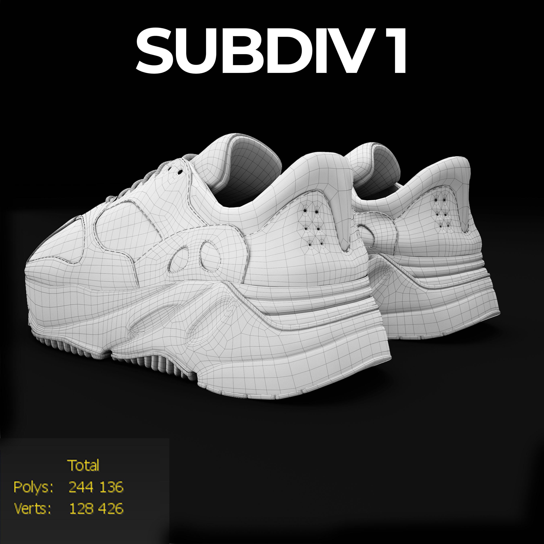 5fd3021aa289 ... adidas yeezy wave 700 3d model max obj mtl fbx mat 9 ...