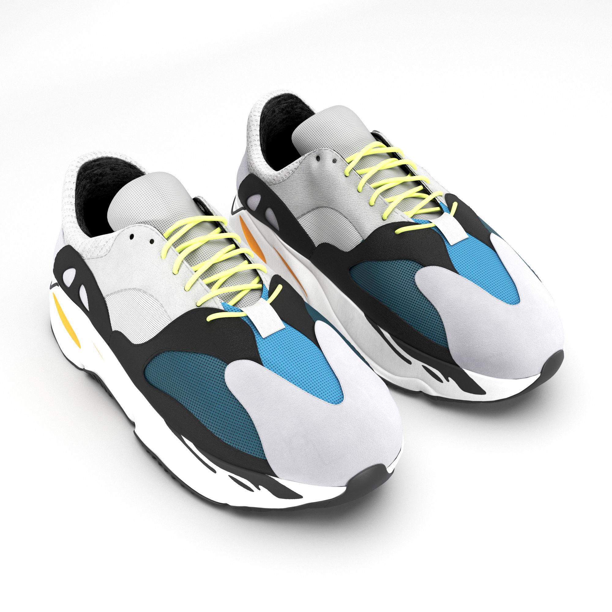95f46072426b ... 4  adidas yeezy wave 700 3d model max obj mtl fbx mat 5 ...