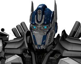 Optimus Prime 3D rigged