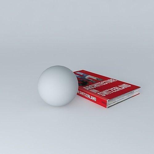 book 3d model max obj 3ds fbx stl dae 1
