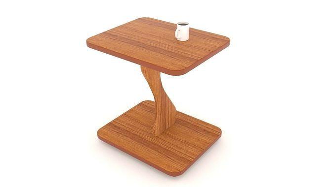 little table 3d model blend 1