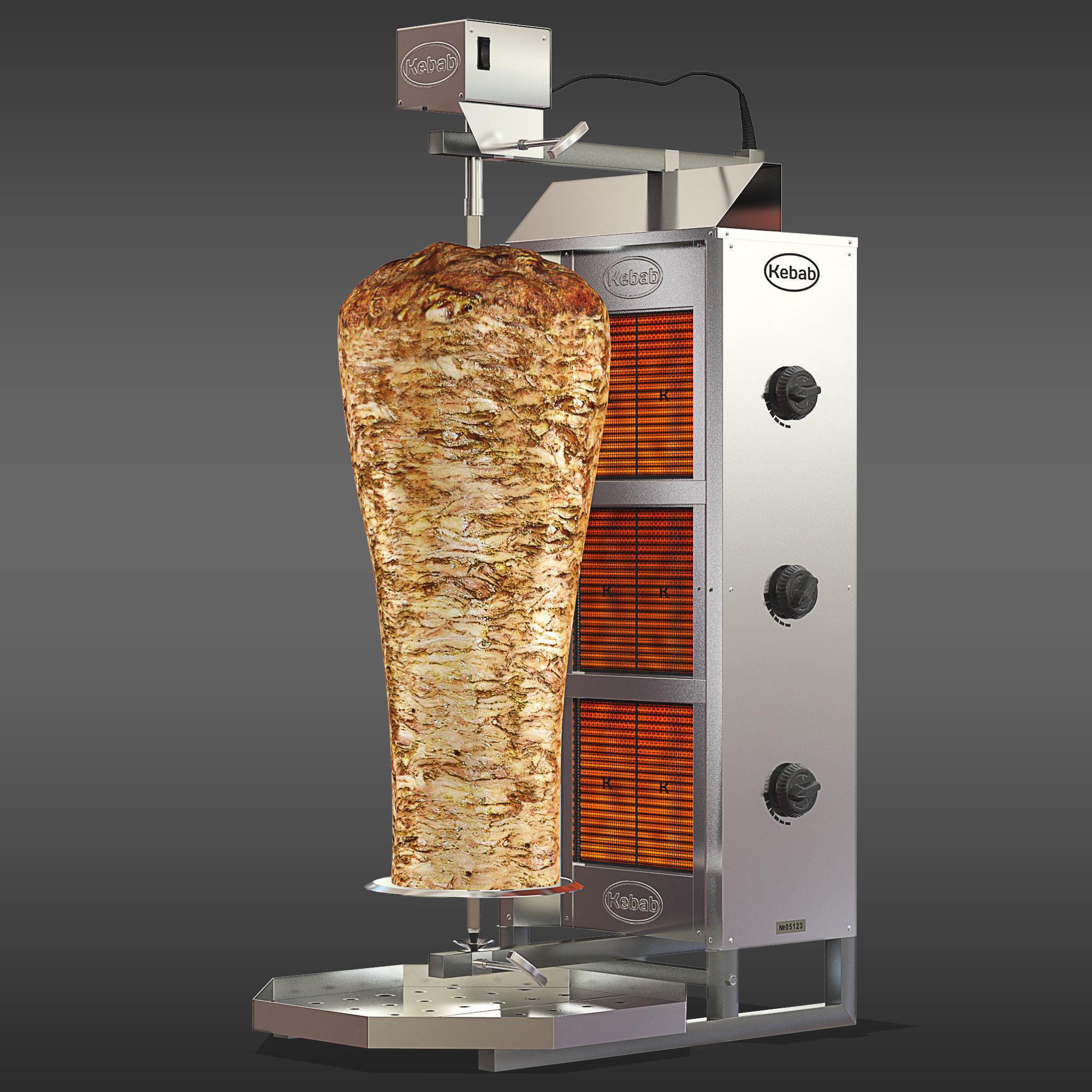 Kebab machine model