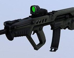 3D asset Assault Rifle IWI TAR 21 PBR Game Ready