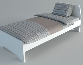 3D asset singleBed Ikea Askvoll