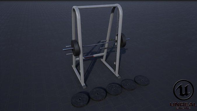 smith machine 3d model obj mtl fbx ma mb unitypackage prefab uasset mel 1