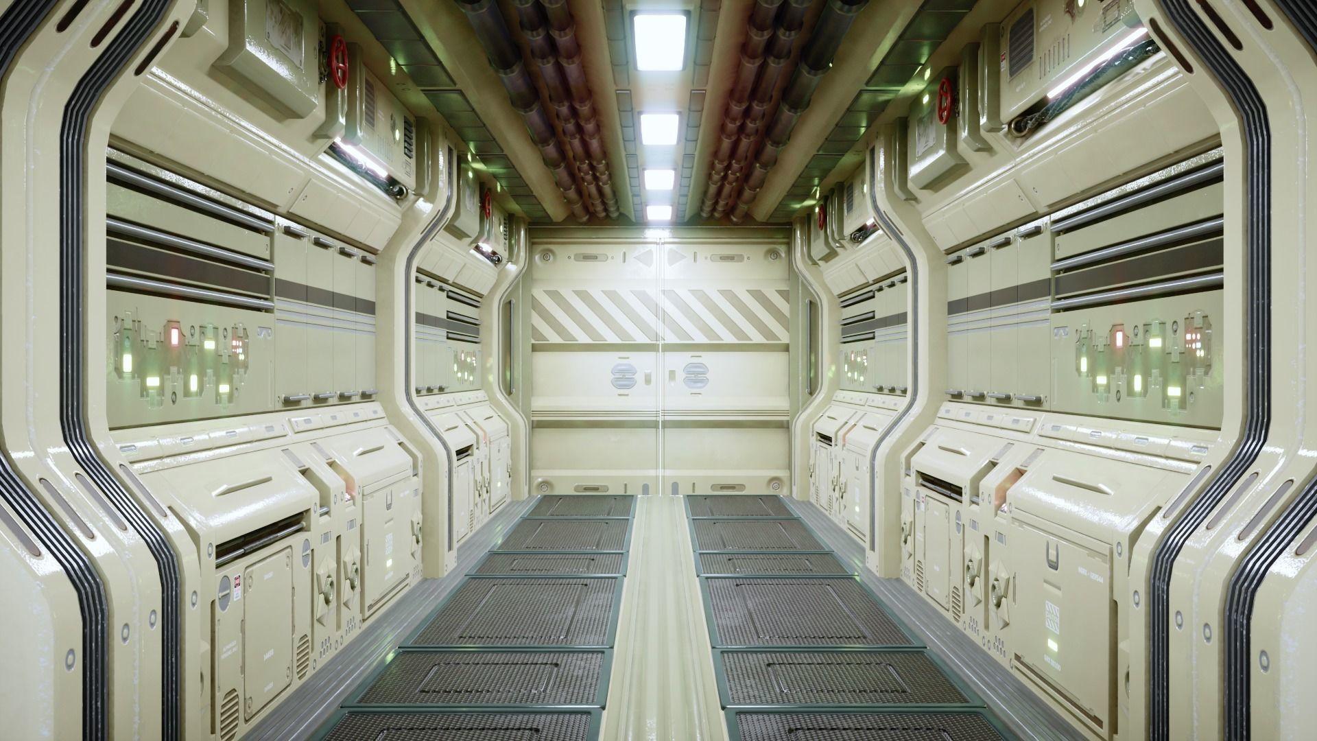 Modular Sci Fi Corridor
