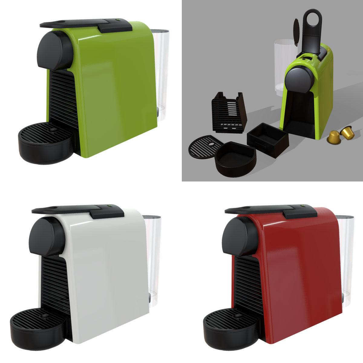 Nespresso Coffee Machine Essenza Mini EN85 | 3D model