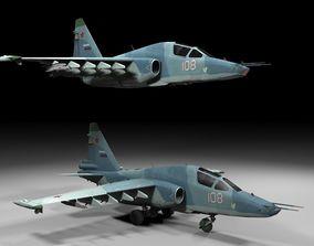 3D model Su 25TM Lowpoly