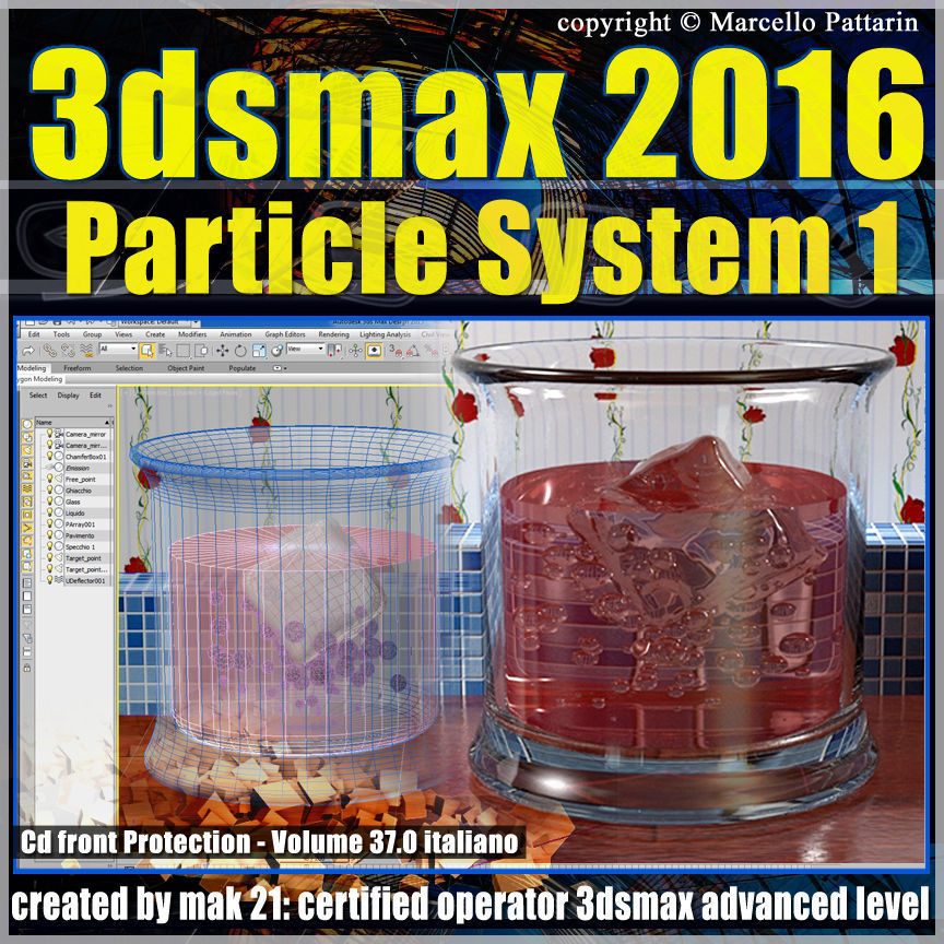 037 3ds max 2016 Particle System 1 volume 37 cd front