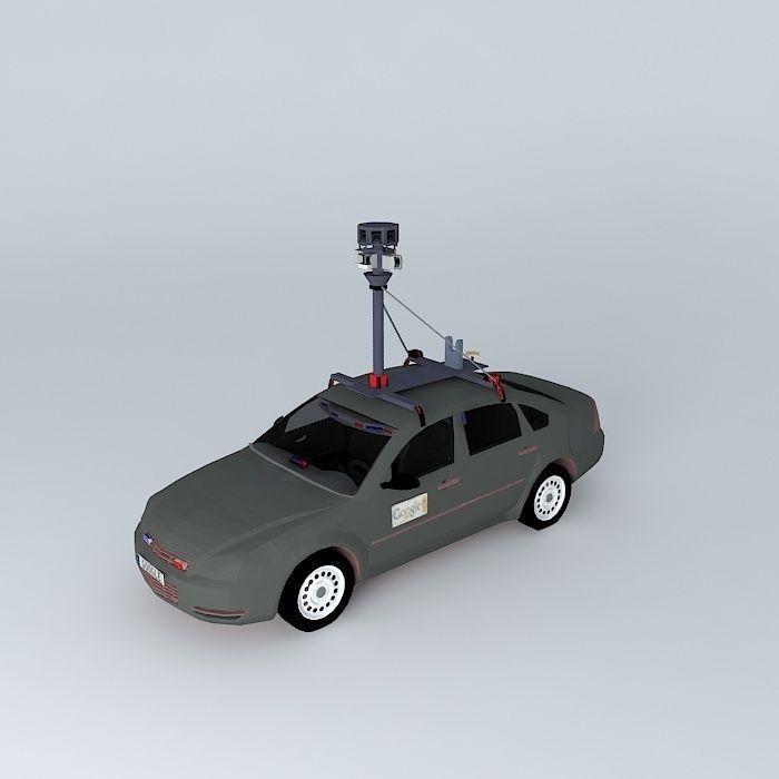 Google Car 3d Cgtrader