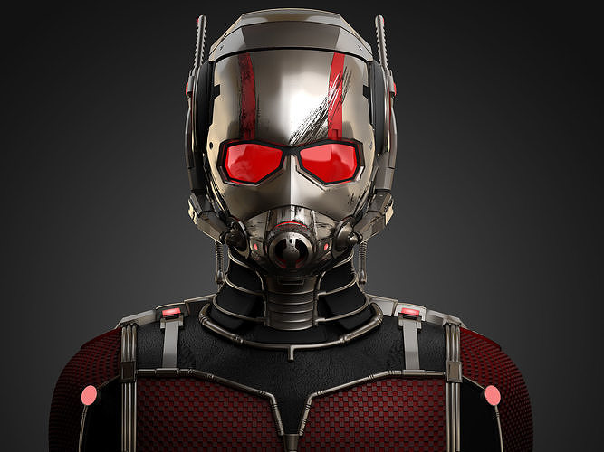 ant-man marvel 2015 3d model max obj mtl 1