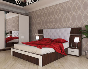 3D asset Bedroom Ezize Bine