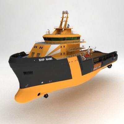 anchor handling tug supply ship 01 3d model max obj 3ds fbx 18