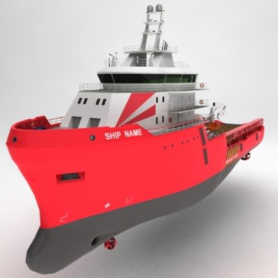 anchor handling tug supply ship 01 3d model max obj 3ds fbx 4
