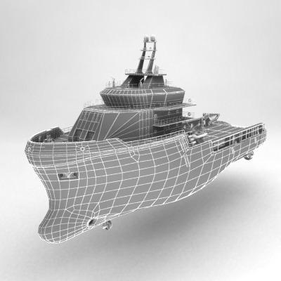 anchor handling tug supply ship 01 3d model max obj 3ds fbx 20
