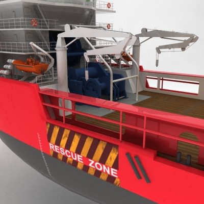 anchor handling tug supply ship 01 3d model max obj 3ds fbx 10