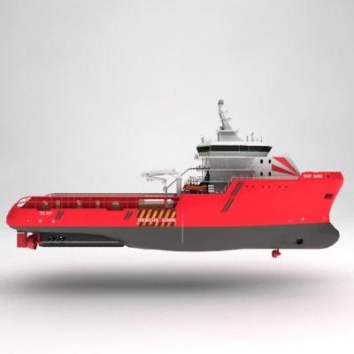 anchor handling tug supply ship 01 3d model max obj 3ds fbx 5