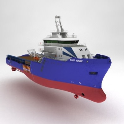 anchor handling tug supply ship 01 3d model max obj 3ds fbx 16