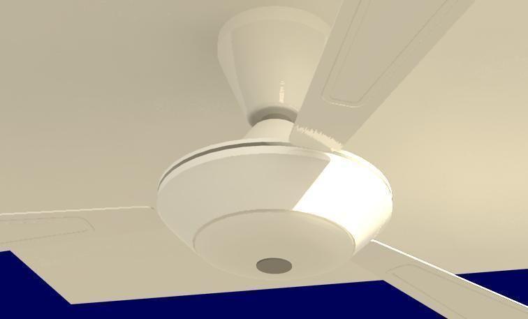 Ceiling Fan 3d Model Rfa 2
