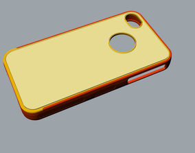 3D print model iphone4 and 4s mold red case