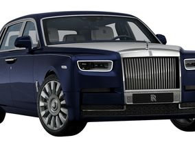 3D model 2018 Rolls-Royce Phantom A Moment in Time