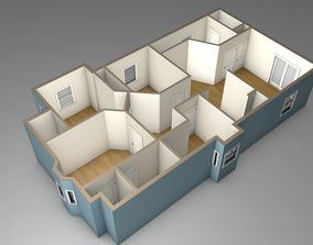House Model building low-poly