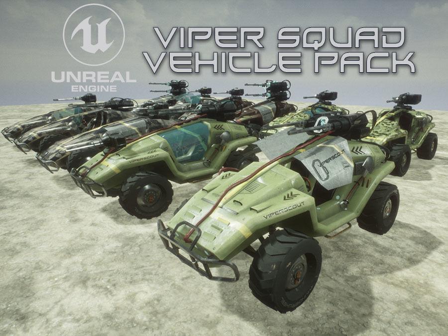 Viper Squad Vehicle pack