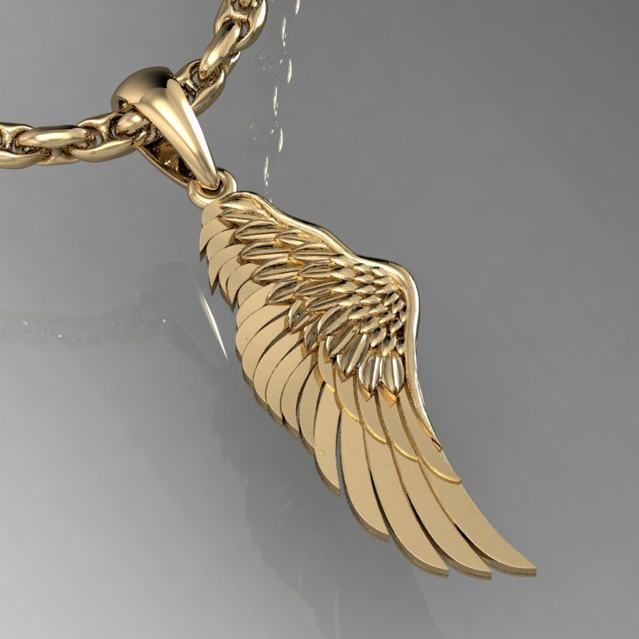 pendant angel wing
