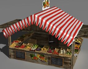 3D Fruit and vegetable stand