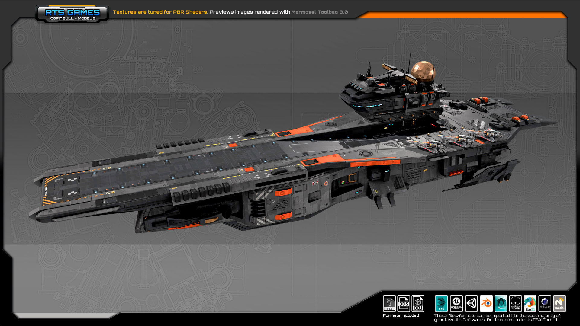 SF Federation Supercarrier GB4